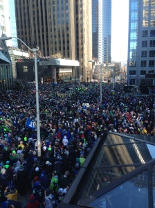 Super Bowl Parade in Seattle